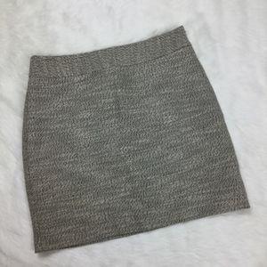 Loft Tweed Mini Skirt sz. 2 Petite